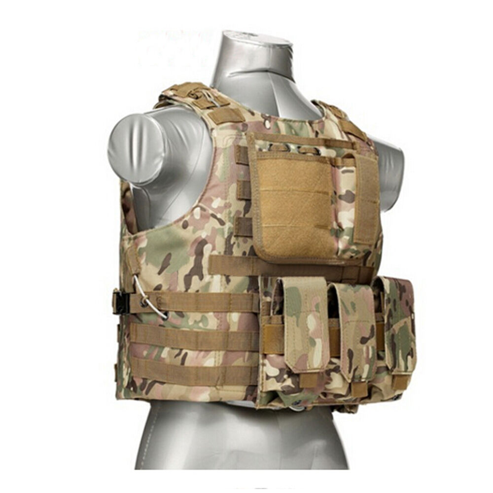 Tactical Military Swat Police Airsoft Molle Combat Assault
