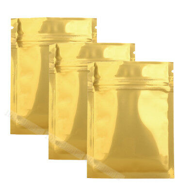 Gold Shiny Foil Zip Lock Bag Heat Sealing Sealer Machine 34in 1005001000 M33
