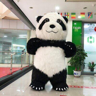Panda Mascot Costumes Cartoon Apparel Birthday Party Masquerade Christmas Fancy