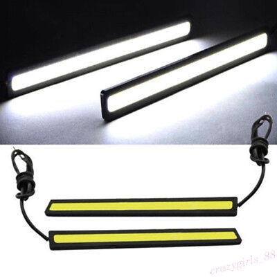 Waterproof 17cm COB Car LED Strip Light for DRL Fog Light Driving White Lamp 12V
