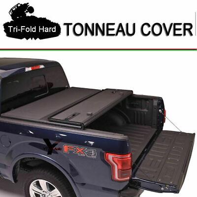 For 15 16 17 18 Chevrolet Colorado Tri-fold Soild Tonneau Cover Short Bed 5FT ()
