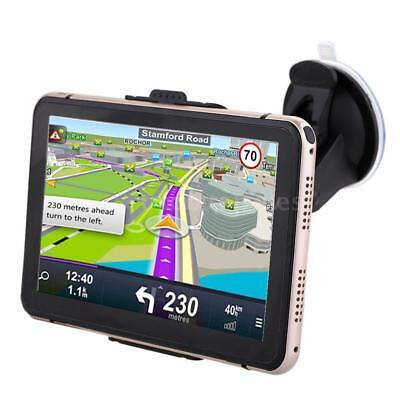 7'' Portable Car GPS Navigation Auto Navigator Nav 4GB 128MB RAM with Free Map