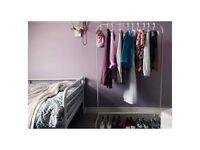 Storage Equipment (Clothes rack, Storage baskets, Shoe storage and Over door hook)