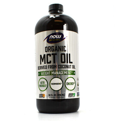 Now Sports Organic MCT Oil , 32-Ounce