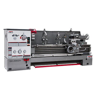 Jet Gh-2680zh 26x80 Geared Head Engine Lathe 321860 Free Shipping