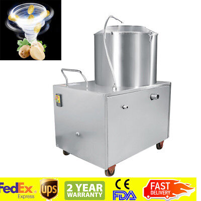 【USA】Electric Potato Peeler Sweet Potato Peeling & Cleaning Washing Machine