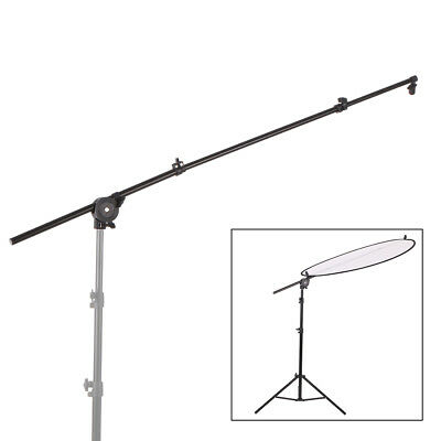Photography Studio Extendable Reflector Diffuser Holder Stand Boom Pole Arm hot