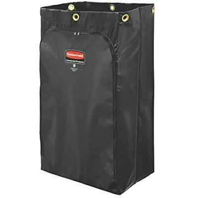 Rubbermaid Commercial Executive Series Cleaning Cart Bag 24 Gallon Black 1966720