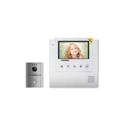 """COMMAX CAV-43U White 4.3"""" LCD Color Video Door Phone DoorCamera DRC-4L Intercom"""