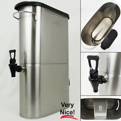 Bunn 39600.0001 Tdo-n-3.5 3.5 Gallon Stainless Steel Narrow Iced Tea Dispenser