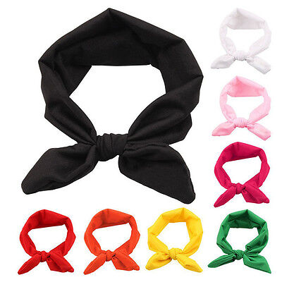8Pcs Baby Girl Headband Toddler Headdress Child Hairband Elastic ZH
