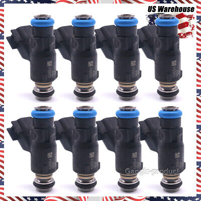 12613411 Set of 8 Fuel Injector Fit for 2010-2013 Chevrolet GMC 4.8L & 5.3L