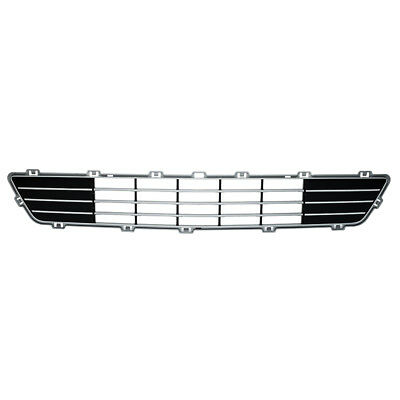 2009-2012 Lincoln MKS Front Bumper Lower Radiator Grille Silver OEM 8A5Z17K945CB