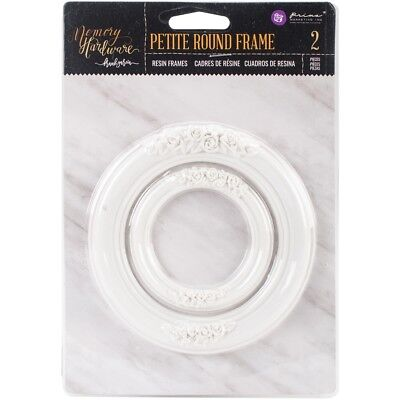 Prima Frank Garcia Memory Hardware Resin Frames 2/pkg-petite Round