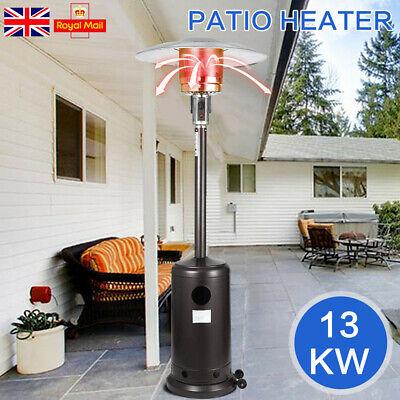 Outdoor Gas Patio Heater Propane Butane LPG Portable Heat Stand Steel Home Yard