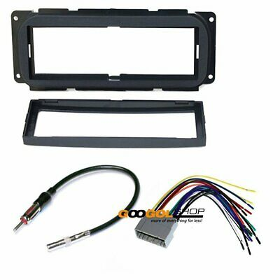 CAR STEREO DASH INSTALL MOUNTING KIT compatible with DODGE 2002 - 2005 RAM - Compatible Stereo