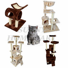 Cat Scratching Post Tree House Scratcher Pole Gym Tunnel 10% OFF Richlands Brisbane South West Preview