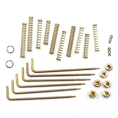 Carburetor Tuning & Calibration Kit Jets Rods Springs For EDELBROCK 1406 600 CFM