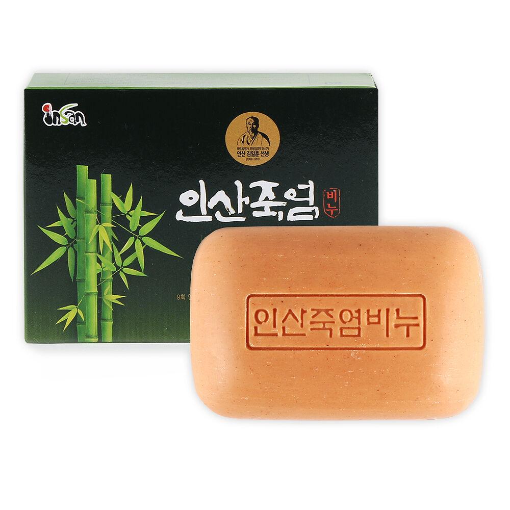 Korea Traditional 9x Bamboo Salt Premium Beauty Soap 100g 2pcs Item Number 132059143590