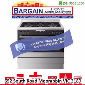 ELECTROLUX EFE916BA BLACK 90CM FREESTANDING COOKER DUAL FUEL Moorabbin Kingston Area Preview