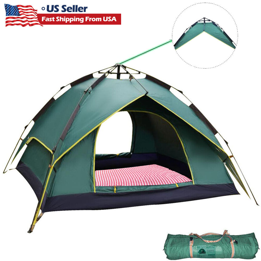 Pop Up Beach Tent Camping Outdoor Instant Waterproof Automat