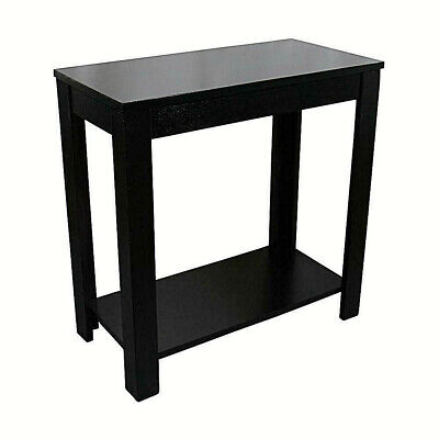 Traditional Style BLACK Finish Side/End Table, 24-Inch - Contemporary Traditional End Table