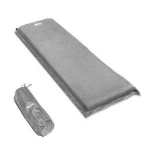 AUS FREE DEL-Single 10cm Self Inflating Camping Sleeping Mat Grey Sydney City Inner Sydney Preview