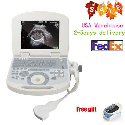 Laptop Machine Ultrasound Scanner Diagnostic Machine Curve Transducer Fda 3d