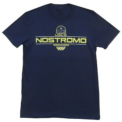 Alien Movie Nostromo Uscs Weyland Yutani Corp Aliens Licensed Adult T Shirt