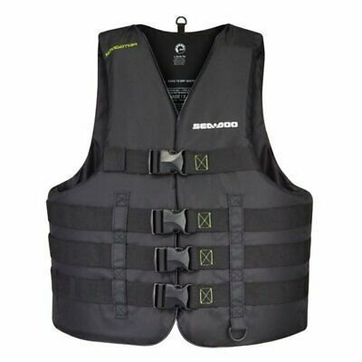 Sea-Doo Navigator Life Jacket - Black expandable from 4XL to 6XL