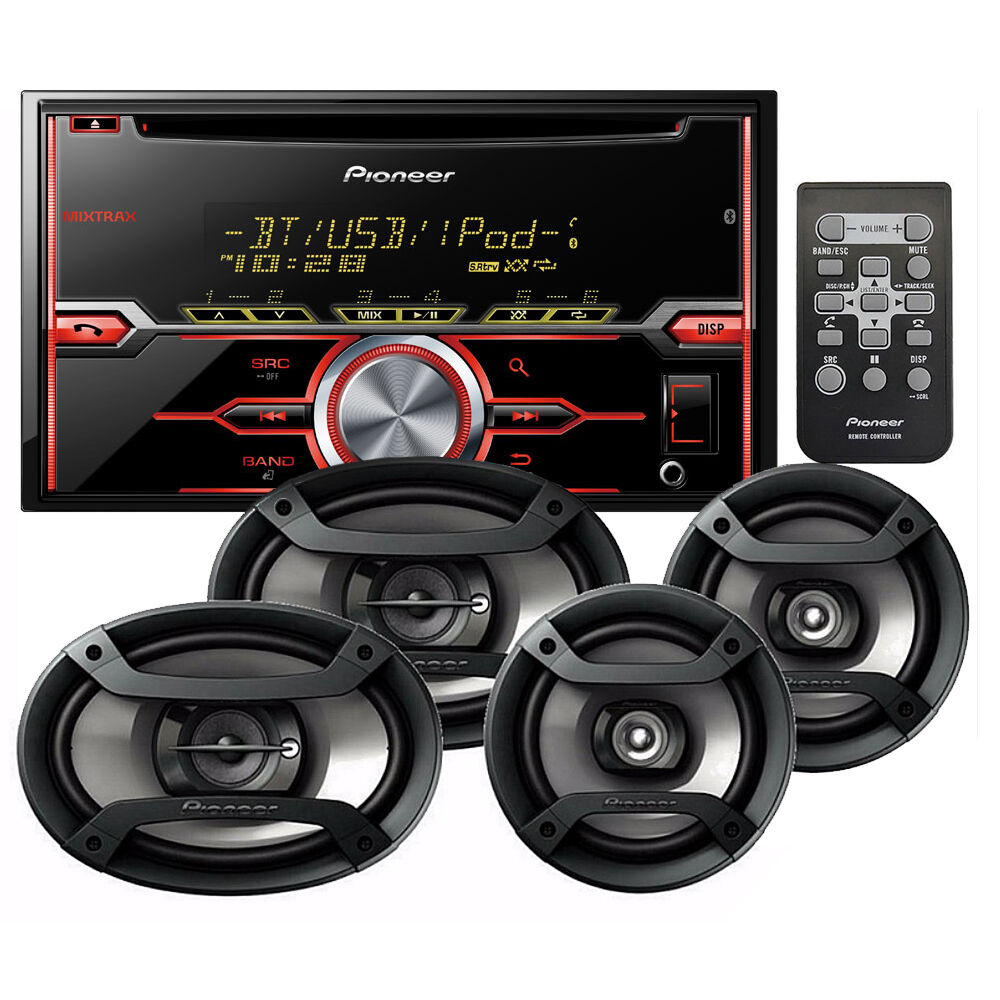 $139.99 - Pioneer FXT-X7269BT Car Stereo Radio CD Receiver with Bluetooth