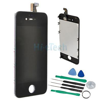 Assembly LCD Touch Screen Digitizer Glass OEM for iPhone 4 GSM Black Replacement on Rummage