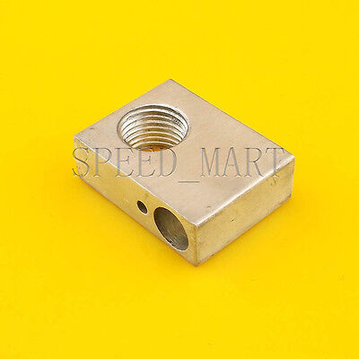 Aluminium Heater Block Assembly Extruder Hot End For M101.0 Nozzle 3d Printer