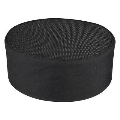 Chef Hat Adjustable Strap Mesh Professional Chef Cap For Kitchen Restaurant New