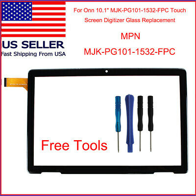For 10.1 ONN 100011886 Touch Screen Digitizer Tablet New Replacement w/ Tool Set
