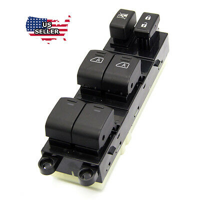 - NEW Master Power Window Switch For 2007-2012 Nissan Pathfinder 25401-ZL10A
