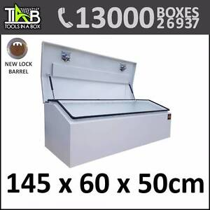Super Sale onAluminium Top Opening Toolbox - 1465W White Sydney City Inner Sydney Preview