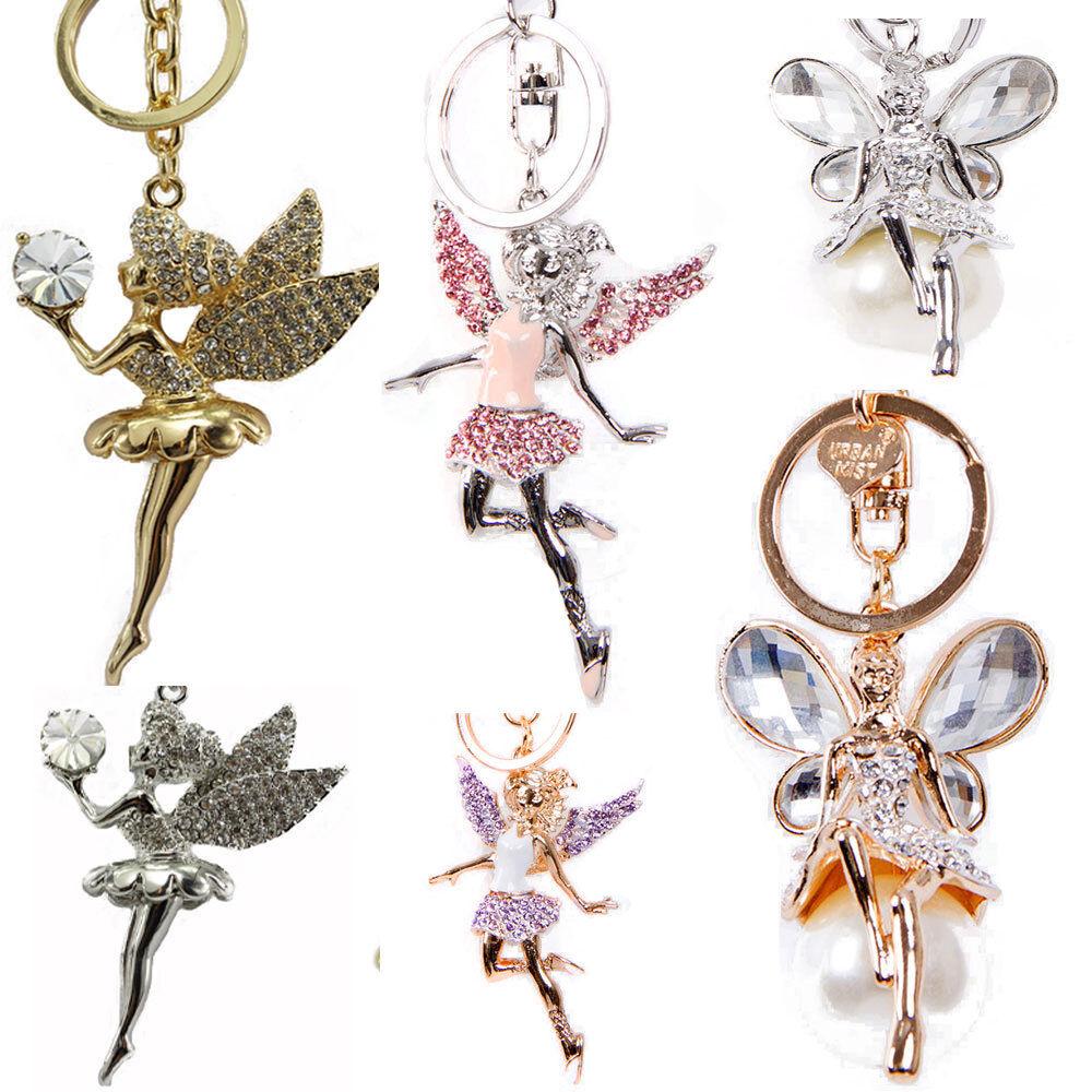 Diamante Keyring Charm Various Designs