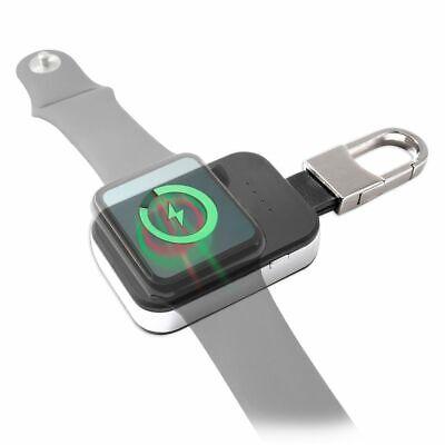 Induktive Powerbank für Apple Watch 950 mAh kabelloses Wireless Laden Schwarz