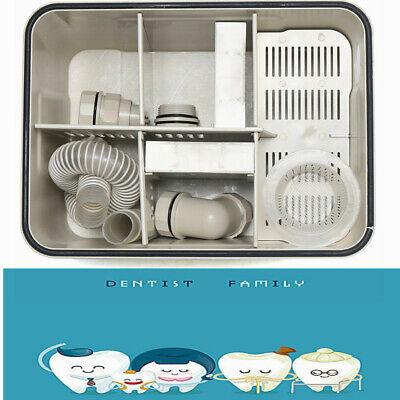 Dental Lab Clinic Equipment Plaster Trap Plaster Filter Gypsum Separator Gray