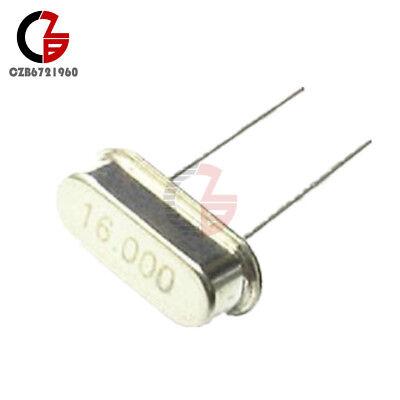 20pcs New 16.000mhz 16mhz 16m Hz Hc-49s Crystal Oscillator