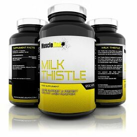 Milk Thistle by Musclelinx Sports Nutrition