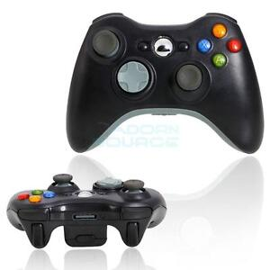 New-Black-Wireless-Handle-Gamepad-Controller-for-Microsoft-Xbox-360-UK