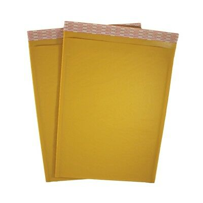 10.5 X 15 5 Kraft Bubble Mailers Self Seal Padded Shipping Envelope - 10 Pack