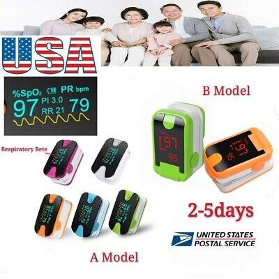 Oled Finger Pulse Oximeter Blood Oxygen Spo2 Pr Monitor Meter Saturation Fda Ce