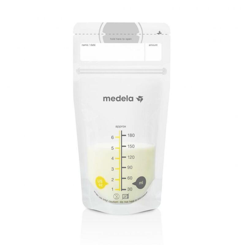 Premium Medela Breast Milk Storage Bags, 100 Count, Ready to Use Breastmilk
