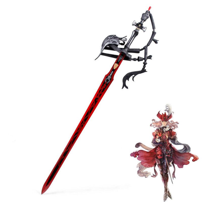 Final Fantasy XIV FF14 Red Mage Prop Cosplay Replica Sword