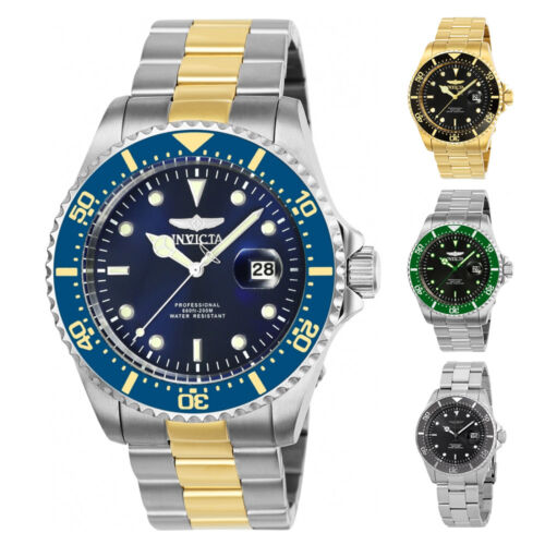 Mens Watches - Invicta Pro Diver Mens Watch - Choose color