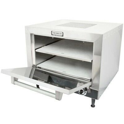 New Nemco 6205-240 Countertop Pizza Oven W Double 19 Stone Deck - 240v 5400w