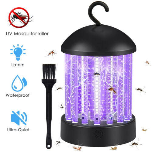 Mosquito And Flies Killer Trap Suction Fan No Zapper Child Safe Catcher Lamp US
